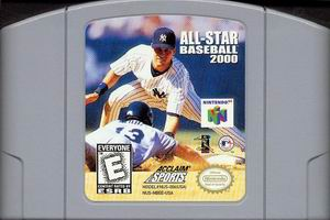 All-Star Baseball 2000 (USA) Cart Scan